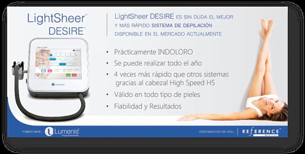 Diodo Lightsheer Desire