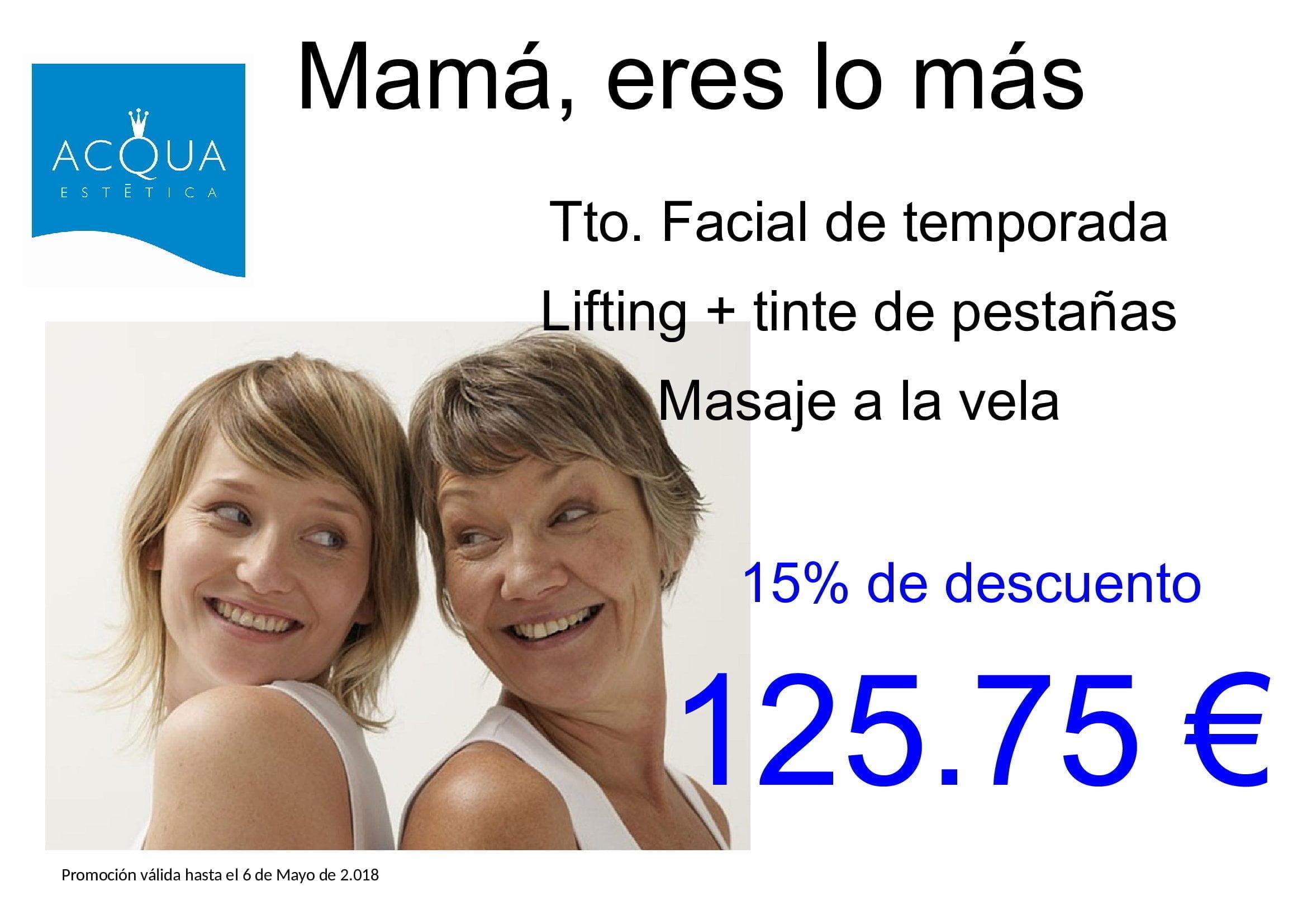 [PROMO FINALIZADA] Mamá, eres lo más